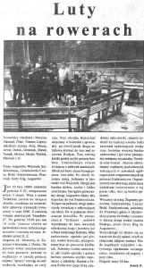 Luty na rowerach 24.02.2000
