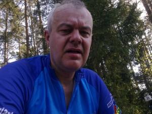 Na mecie Maratonów Kresowych w Białymstoku 1.05.2012