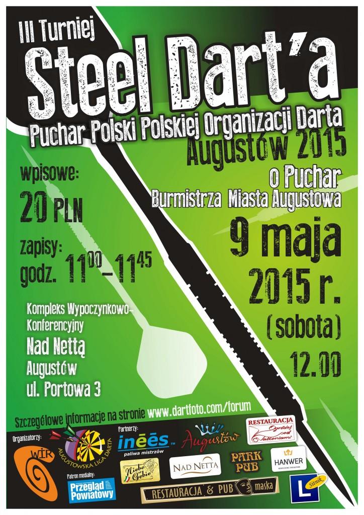 steel dart 2015 plakat